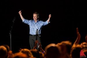 Chris de Burgh war begeistert vom Münsteraner Publikum. (Foto: sg)