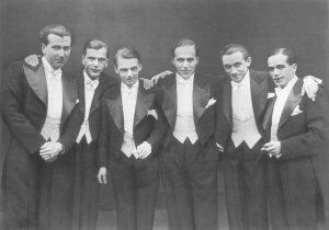 Comedian Harmonists in den 30ern. (Foto: Theater Münster)