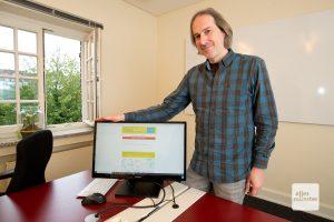 Guido Dermann ist Chef der münsterschen Firma AI-Port (Foto: Michael Bührke)