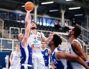 Topscorer Cosmo Grühn brachte den WWU Baskets 27 Punkte ein. (Foto: Markus Holtrichter)