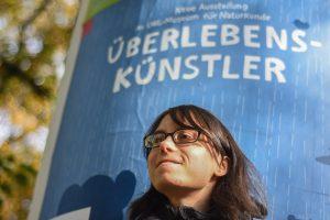Die Autorin Selina Spetter aus Münster. (Foto: Oliver Brand / draußen e.V.)