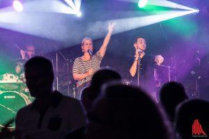 Die diesjährigen Gäste, die VIP Entertainment Band. (Foto: sg)