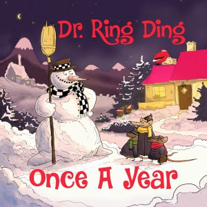 Weihnachten mit dem Doktor, Coverart der neuen CD. (Bild: Promo)