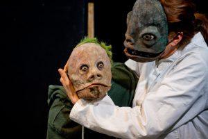 Creatures Hill überzeugt nicht nur mit großartigen Schauspielern, sondern auch mit eindrucksvollen Masken. (Foto: Jörn Hausner)