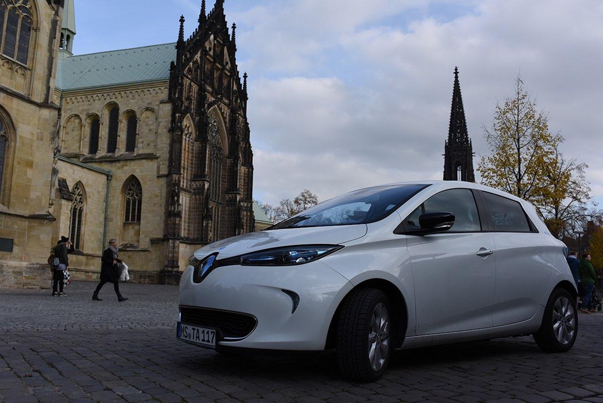 Ein zweites Elektroauto wird in die Flotte aufgenommen. (Foto: Stadtteilauto)