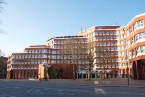 Das Landgericht Münster wird umfangreich saniert. (Foto: Justiz NRW)