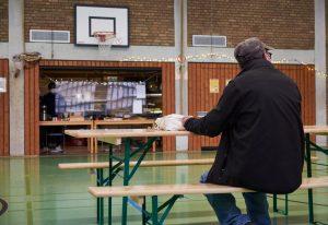 Pro Monat wurden im Tagesaufenthalt in der Wartburgschule rund 4.000 Portionen Speisen an Obdachlose verteilt. (Foto: ASB)