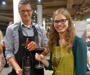 Sommelier David Oberhauser hat die passenden Weine für ein gutes Essen. (Foto: Promo)