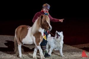 Tierisches Vergnügen bei der Doglive-Gala. (Foto: sg)
