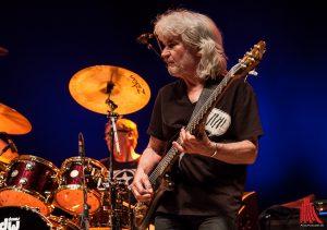"""Schon in den 70er Jahren dabei und deshalb """"Passport Classic"""": Bassist Wolfgang Schmid und Schlagzeuger Curt Cress (Foto: sg)"""