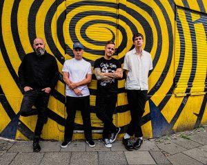 Duchamp, die neue Hardcore-Punk-Allstar-Band um Donots-Frontmann Ingo Knollmann, hat gerade ihr Debutalbum herausgebracht. (Foto: Uncle M Music)