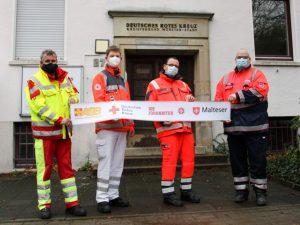 """Das ehrenamtliche Projekt """"Wache 8"""" der Hilfsorganisationen aus Münster läuft zum Jahresende aus. (Foto: Bündnis """"Gemeinsam für Münster"""")"""