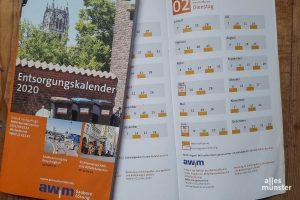 Abfuhrkalender ab 2021 nur noch online | ALLES MÜNSTER