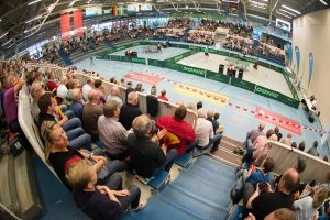 Auch Tischtennis wird nach Volleyball und Basketball jetzt zum Publikumsmagneten in Berg Fidel. (Foto: Pressefoto)