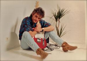 Ernesto Telecastro: Hofackers Spitzname ging zurück auf das Gitarrenmodell Telecaster. (Foto: Dieter Bodenhausen)