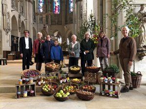 Landwirtsfamilien aus Münster feierten gestern das Erntedankfest mit einem Gottesdienst von KLB und KLJB im St. Paulus Dom. (Foto: Westfälisch-Lippischer Landwirtschaftsverband WLV e.V.)