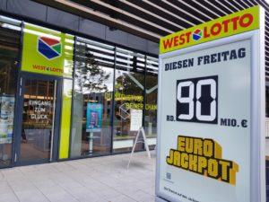 Drei der vier Eurojackpot-Gewinner in NRW vom letzten Wochenende sind mittlerweile bekannt. Doch der Rekordgewinner aus dem Münsterland ist nicht dabei. Wo steckt der 90-Millionen-Tipper? (Foto: Bodo Kemper)