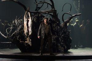 """Ist das alles schön düster hier: """"Der Freischütz"""" im Stadttheater Münster (Foto: Oliver Berg)"""
