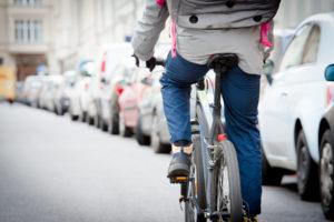 Viele Fahrradkuriere arbeiten zu schlechten Bedingungen, kritisiert die Gewerkschaft NGG. Ihre Lage könnte sich im Zuge der Corona-Krise verschärfen. (Foto: NGG)