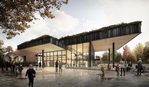 """Das LWL-Museum für Naturkunde wird zum regionalen Kompetenzzentrum und """"Forum für Naturwissenschaften"""" weiterentwickelt. (Bild: Kresings Architektur Düsseldorf GmbH)"""
