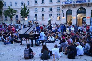 Ein Open Piano in Wien. (Foto: Johanna Leitner)
