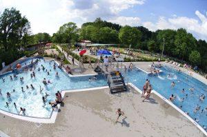 Das Freibad Stapelskotten öffnet im Sommer länger. (Foto: Presseamt Münster)