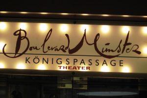 Das Boulevard Theater Münster in der Königspassage. (Foto: Lissel)