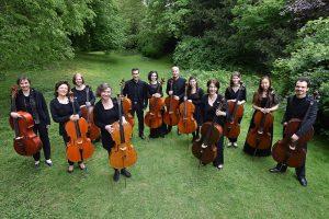 Vor der Sommerpause holen die 12 Hellweger Cellisten in der Friedenskapelle ihr Konzert zum Beethoven-Jubiläum nach. (Foto: Volker Beushausen)