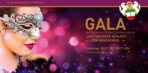 Die KG Schlossgeister feiert die große Karnevalsgala. (Bild: Presse)
