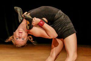 """Bei der neuen GOP-Show """"Humorzone"""" ist Jatta Borg ein absoluter Hingucker. (Foto: GOP)"""