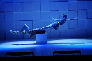 """Selbstverständlich bietet auch die Show """"Sombra"""" ästhetische Akrobatik, wie hier mit dem Duo Gema & Miguel. (Foto: GOP)"""
