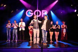 """Das Ensemble der Show """"backSTAGE"""" im GOP Münster. (Foto: GOP)"""