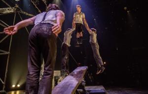 Das Duo Baskultoo auf dem Schleuderbrett. (Foto: GOP / Promo)