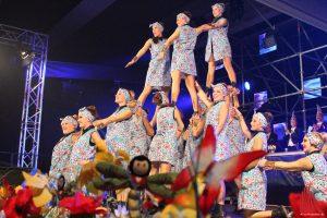 Eine beeindruckende Putzfrauenpyramide der Showtanzgruppe Magic Unity. (Foto: je)