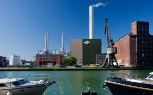 Die Fernwärmeleitung entlang des Rings versorgt den östlichen Teil der Stadt mit Heizwärme aus dem GuD-Kraftwerk im Hafen. (Foto: Stadtwerke Münster)
