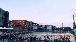 """Der Stadtrat beschloss gestern, dass Münster ein """"Sicherer Hafen"""" für Geflüchtete ist. (Foto: Seebrücke Münster)"""