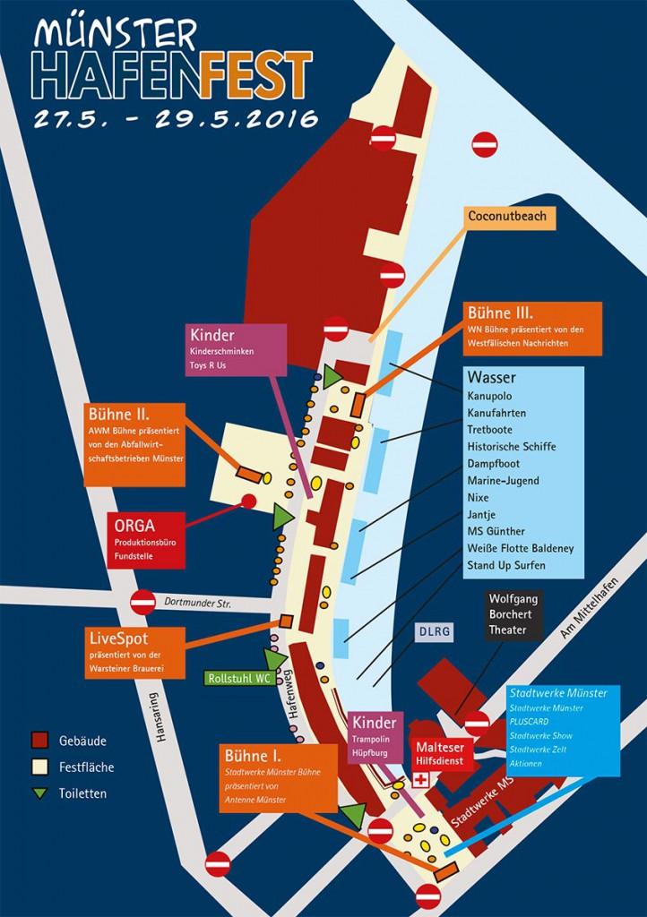 Hafenfest Geländeplan (Grafik: MS Hafen e.V.)
