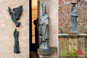 Rudolf Breilmanns Werke finden sich an vielen Stellen in Münster. (Foto: Michael Bührke)