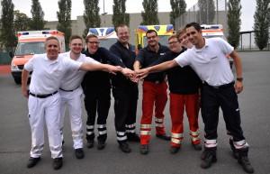 Seit 10 Jahren unterstützt ehrenamtliches Rettungsdienstpersonal die Feuerwehr am Wochenende. (Foto: Vogelmann)