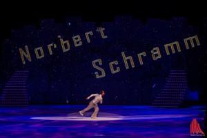 Norbert Schramm bei seiner Solonummer, zu schnell für die Kameras. (Foto: sg)