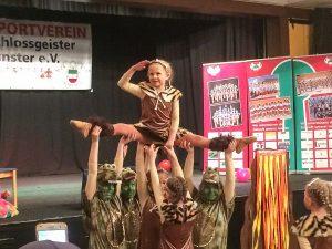 So bunt und fröhlich war der Kinderkarneval der Schlossgeister. (Foto: Benno Mehlich)