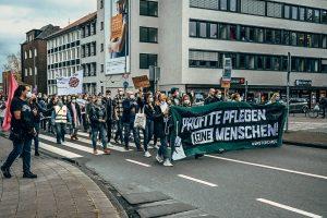 """Am Donnerstag findet die nächste von """"MünsterCares"""" organisierte Demonstration statt. (Foto: MünsterCares / Daniel Wibbelt)"""