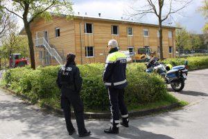 Nach dem Brandanschlag auf eine geplante Flüchtlingsunterkunft konnte nun ein Verdächtiger festgenommen werden. (Foto: Archivbild)