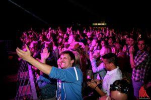 Ausgelassene Feierstimmung wird es bei dem JuWi-Fest auch in diesem Jahr wieder geben. (Foto: kd)