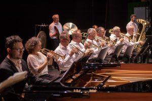 Ein Orchester darf beim Theaterfest natürlich nicht fehlen. (Foto: Oliver Berg)