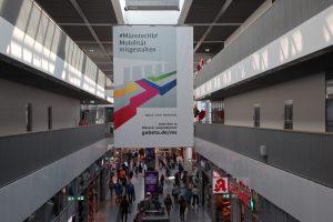 Zukunftsbahnhof Münster, einer von 16 Deutschlandweit.(Foto: DB AG / Sooth)