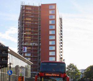 Bei den Mieten im Metropolis-Hochhaus will die Stadt notfalls die Gerichte einschalten. (Foto: nn)