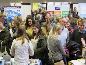 Die JugendBildungsmesse JuBi findet im Gymnasium Paulinum statt. (Foto: Pressefoto)