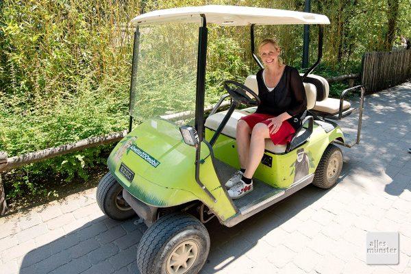 Mit Münsters neuer Zoodirektorin nimmt der Allwetterzoo wieder Fahrt auf. (Foto: Michael Bührke)