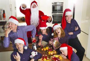 Die Impro 005 Weihnachtsshows im Kreativ-Haus. (Foto: Mensing)